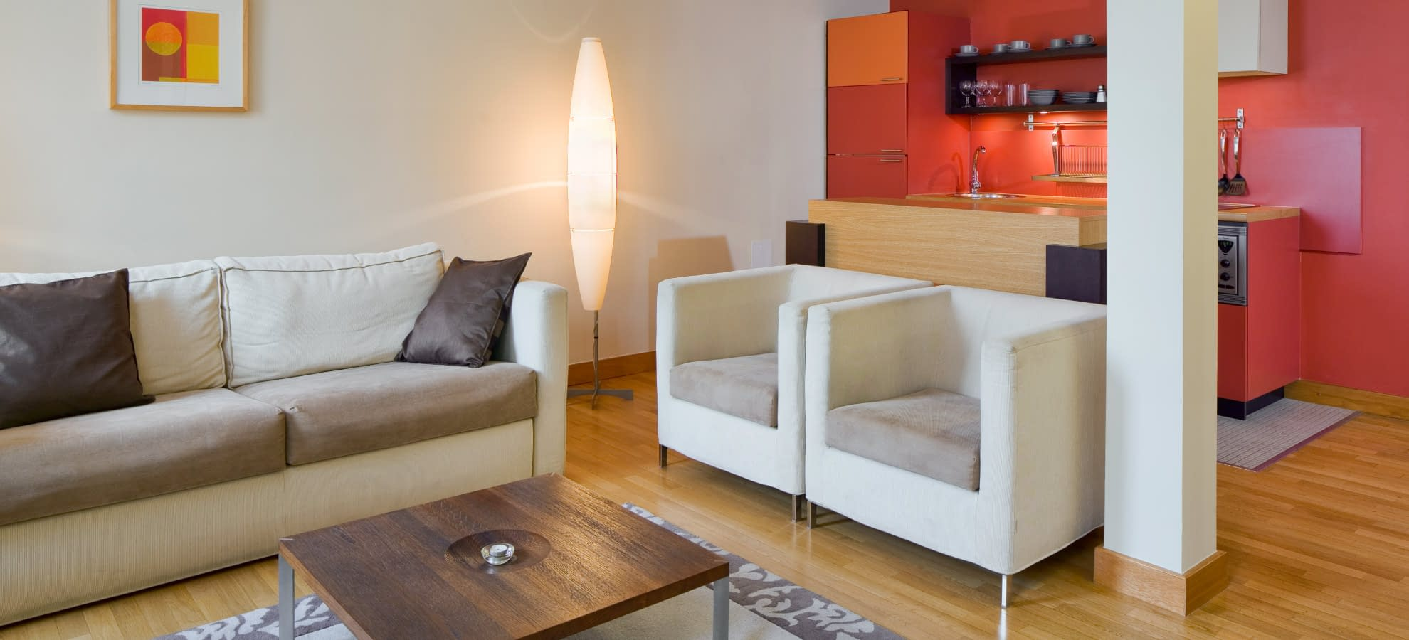 One Bedroom Deluxe Suite Mamaison Residence Belgick Prague