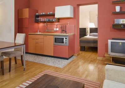 Mamaison Residence Belgicka Prague_One-bedroom-business-suite